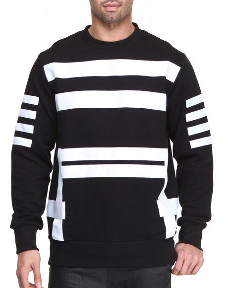 Dnine Reserve Black Pullover Sweatshirts