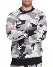 Sweatshirts & Sweaters - Camo Stars Crew