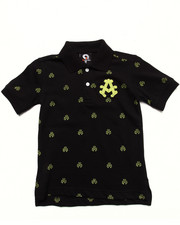 Boys - ALL OVER PRINT POLO (4-7)