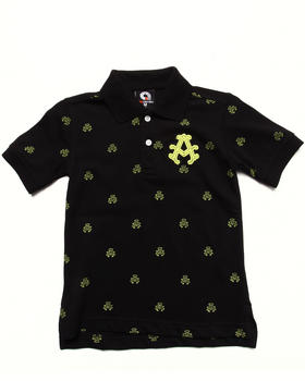 Akademiks - ALL OVER PRINT POLO (4-7)