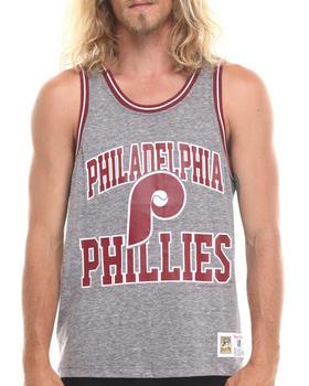 Mitchell & Ness - Philadelphia Phillies MLB Strike Three tank top