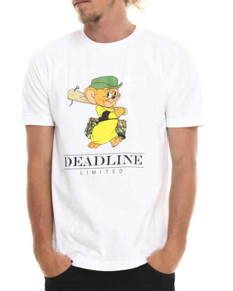 Deadline - Men White Jerry's Cousin Tee