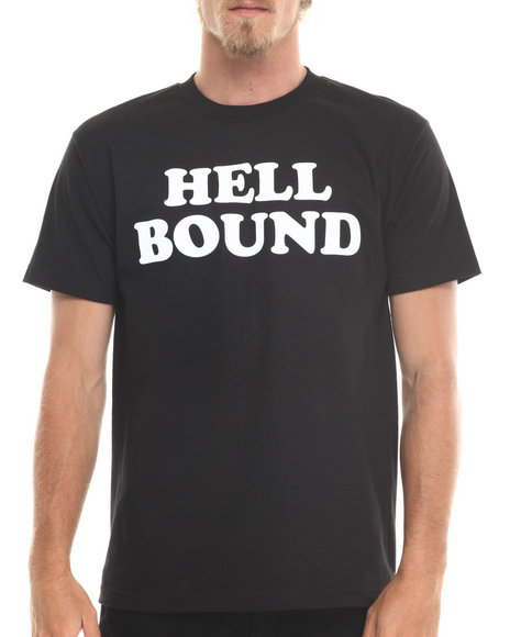 Deadline - Men Black Hell Bound Tee