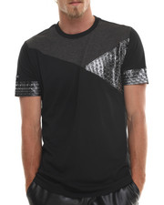MO7 - Cut & Sewn Metallic Star trim tee