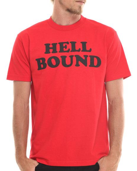 Deadline - Men Red Hell Bound Tee