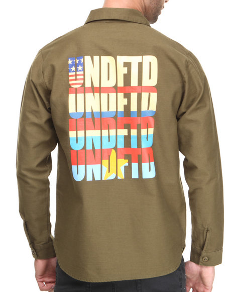 Undftd Red T-Shirts