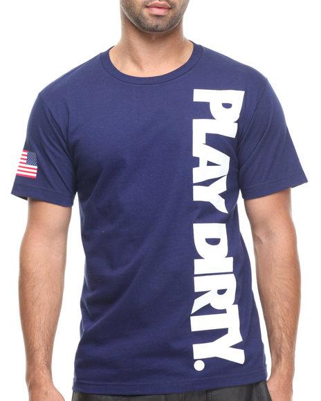 UNDFTD Navy Pg Flag Tee