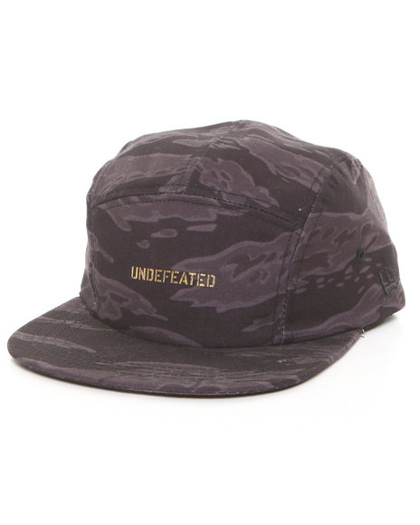 Undftd Men High End New Era 5-Panel Camp Cap Camo
