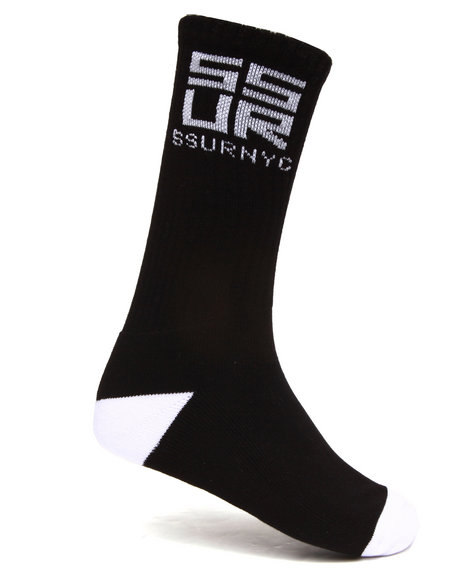 Ssur Men Ssurvenchy Socks Black