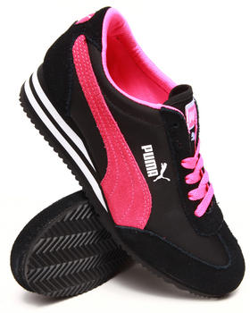 Puma - Caroline Stripe Wedge Sneakers