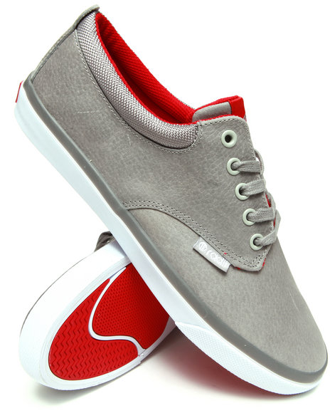 Radii Footwear - Men Grey,Red The Jax Sneakers With Scotchguard
