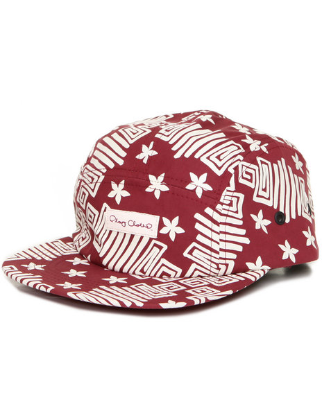 Djp Outlet Men Kingdom 5-Panel Cap Maroon