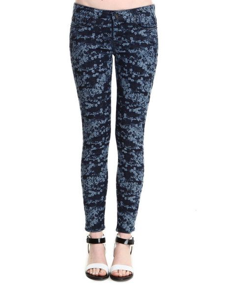 Big Star - Women Dark Blue Alex Floral Camo Jean - $49.99