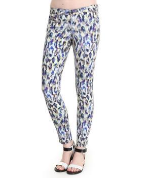 Big Star - Alex Leopard Water Color Jean