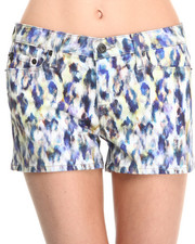 Big Star - Alex Water Color Leopard Short