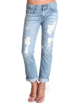 Big Star - Joey Militia Slim Distressed Jeans