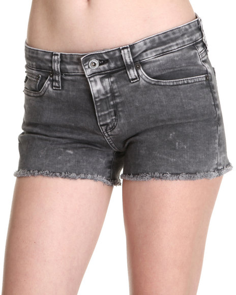 Big Star - Women Charcoal Alex Coal Shorts - $35.99