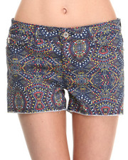 Women - Alex Tribal Print Shorts