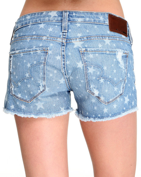 Big Star Medium Wash Shorts