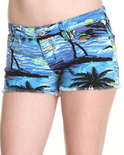 Women - Remy Vintage Hawaiian Shorts