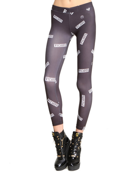 Civil - Women Black Vicious Legging