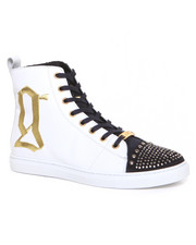 "DJP OUTLET - Galliano Martina ""G"" Stud Detail Hightop"