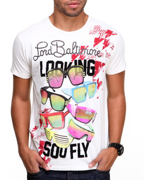 DJP OUTLET - Lord Baltimore So Fly Flocked Tee