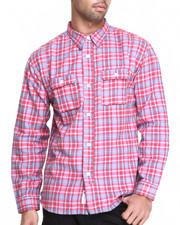 Men - Yardmaster Flannel L/S Button-down