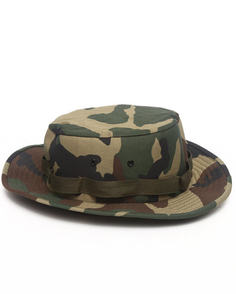 DRJ Army/Navy Shop - Woodland Camo Jungle Hat