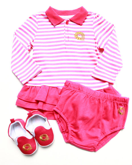 Akademiks - 3 PC INFANT SET (12MOS-24MOS)