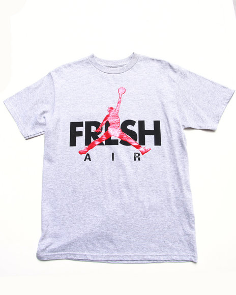 Air Jordan - Boys Grey Fresh Tee (8-20)