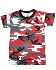 DRJ Army/Navy Shop - Red City Camo Tee