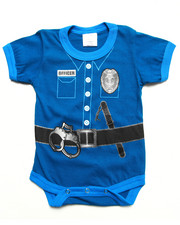 Boys - Police Officer Bodysuit (Infant)