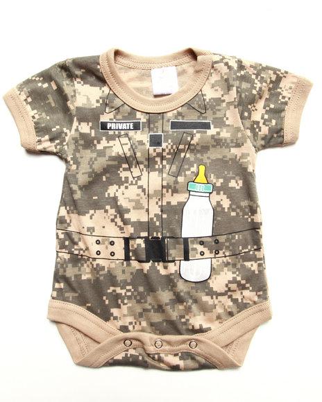 Boys Camo Soldier Bodysuit (Infant)