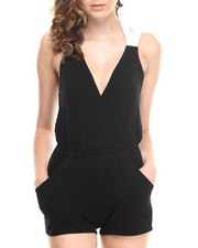Jumpsuits - Colorblock Romper