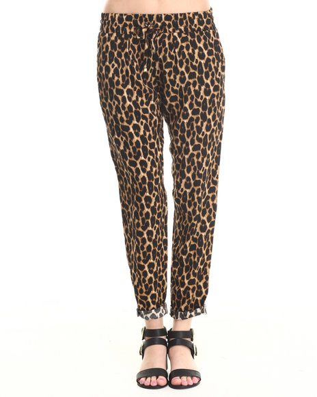Ali & Kris - Women Animal Print Leopard Soft Pant