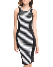 Women - The Stripes Midi Dress