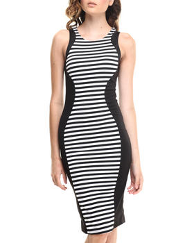 Fashion Lab - The Stripes Midi Dress