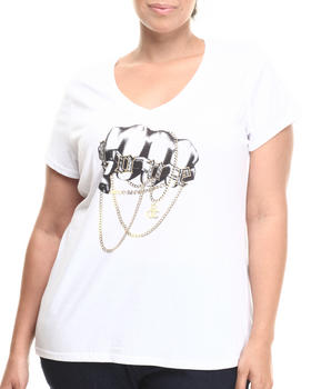 Rocawear - V-NECK CHAIN LOVE SHIRT