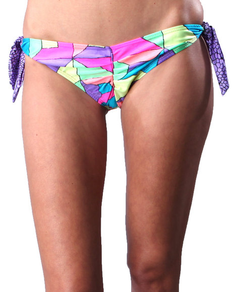 DJP OUTLET - House of Jackie Brown DIAMOND GIRL BIKINI BOTTOM