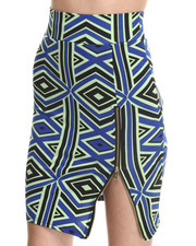 Baby Phat - Zip Front Pencil Midi Skirt