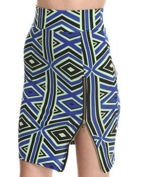 Baby Phat - Zip Front Pencil Midi Skirt