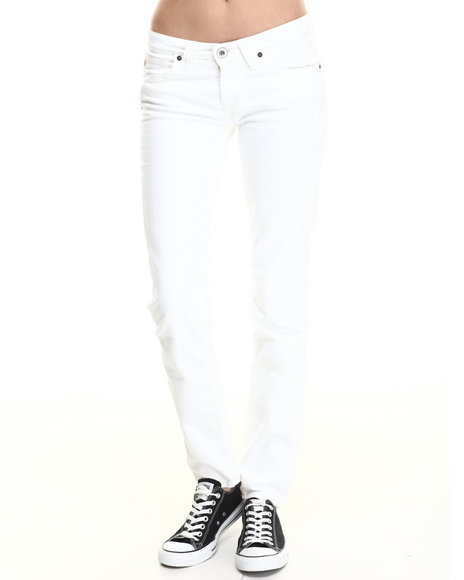 Big Star - Women White Sinatra Low Rise Jean