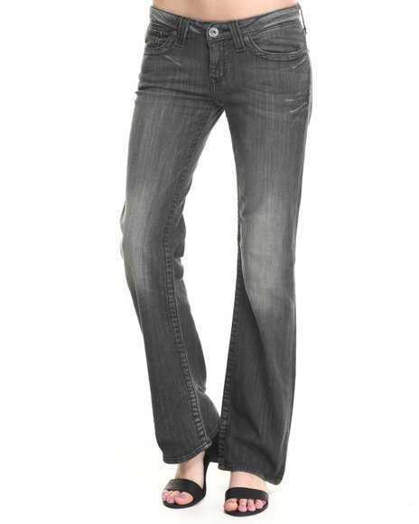 Big Star - Women Vintage Wash Remy Low Rise Fit Jean W/ Pckt Detail