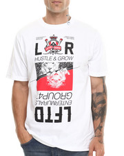 LRG - HUSTLE AND GROW S/S TEE