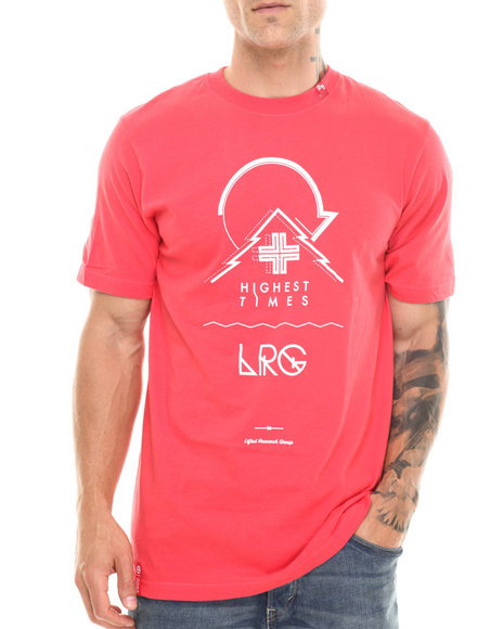 Lrg - Men Red Highest Times S/S Tee