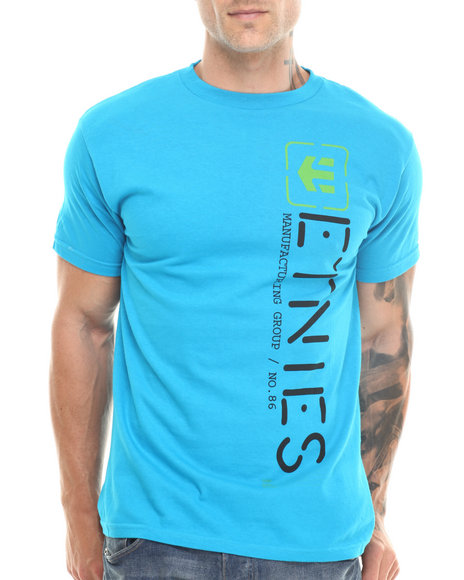 Etnies - Men Blue Obelisk Tee