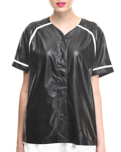 Motel - Women Black Cassie Top