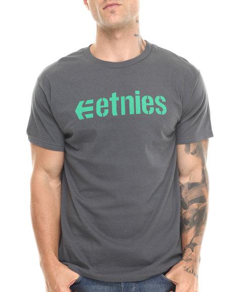 Etnies - Men Grey Corporate 13 Tee - $10.99