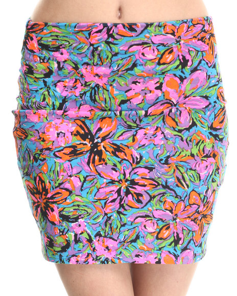 Motel - Women Multi Kimmy Skirt